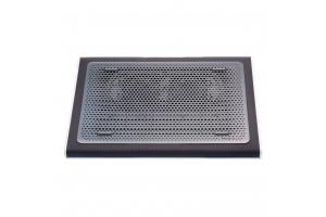 "Targus AWE55GL notebook cooling pad 43,2 cm (17"") 1900 RPM Zwart, Grijs"