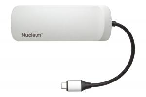 Kingston Technology Nucleum USB 3.2 Gen 1 (3.1 Gen 1) Type-C 5000 Mbit/s Zilver