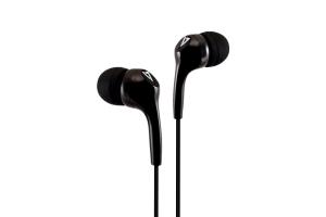 V7 HA105-3EB hoofdtelefoon/headset In-ear Zwart 3,5mm-connector