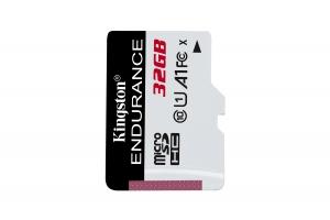 Kingston Technology High Endurance flashgeheugen 32 GB MicroSD Klasse 10 UHS-I